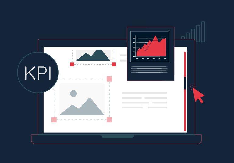 KPI site internet scroll