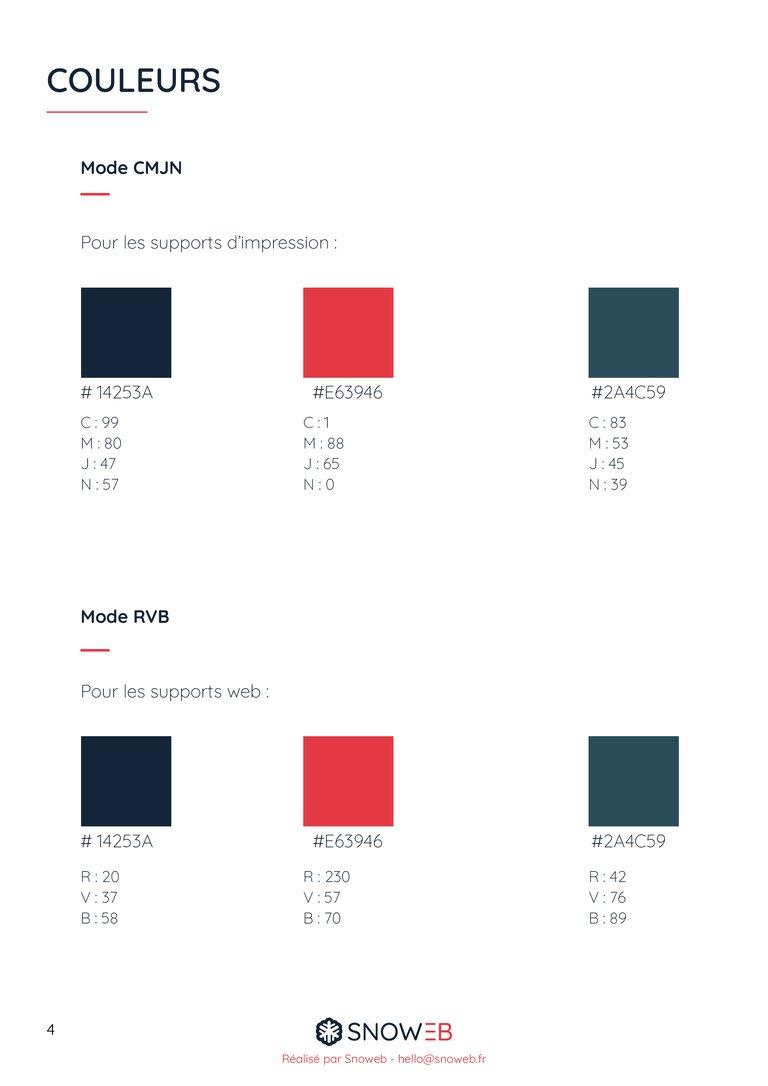 identite visuelle couleurs