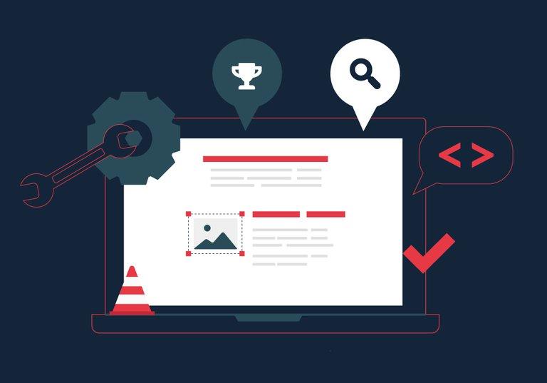 maintenance site web que fait le developpeur